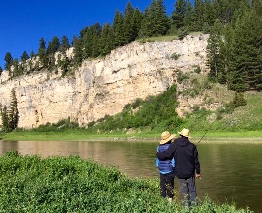 Smith River Montana Love Birds