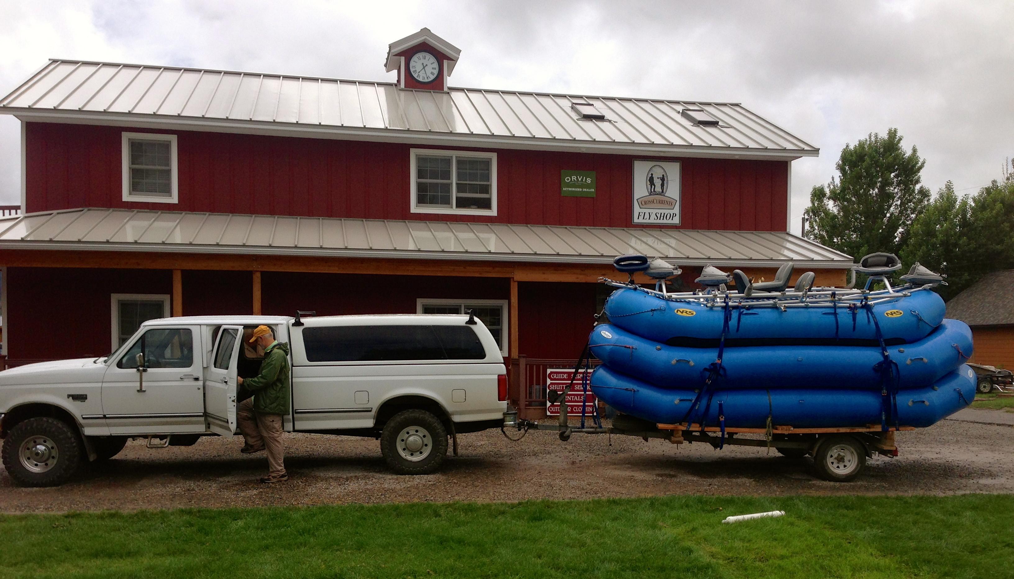 Rentals - CrossCurrents Fly Shop Missouri River Craig, Montana