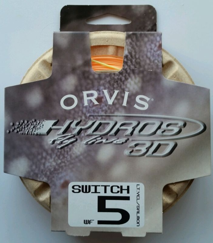 Orvis Hydros 3D Switch Fly Line WF-5-F