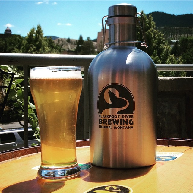 Woolly with stainless growler