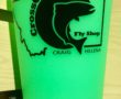 Missouri River Silipint -Glow in the Dark Green MT logo