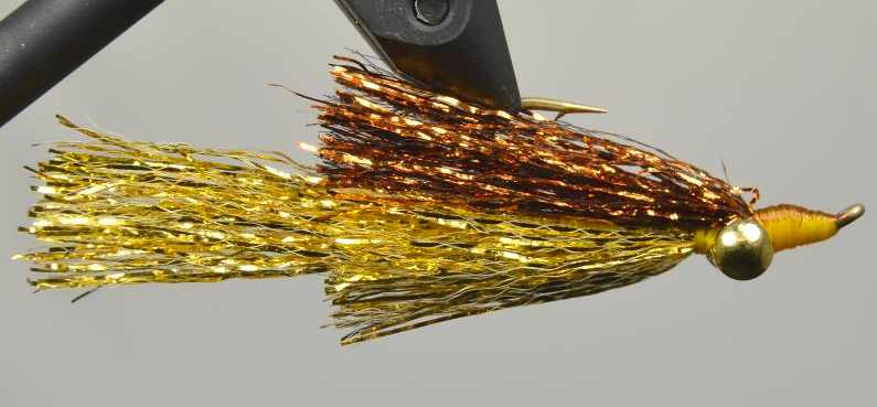 Kreelex Minnow -copper-gold