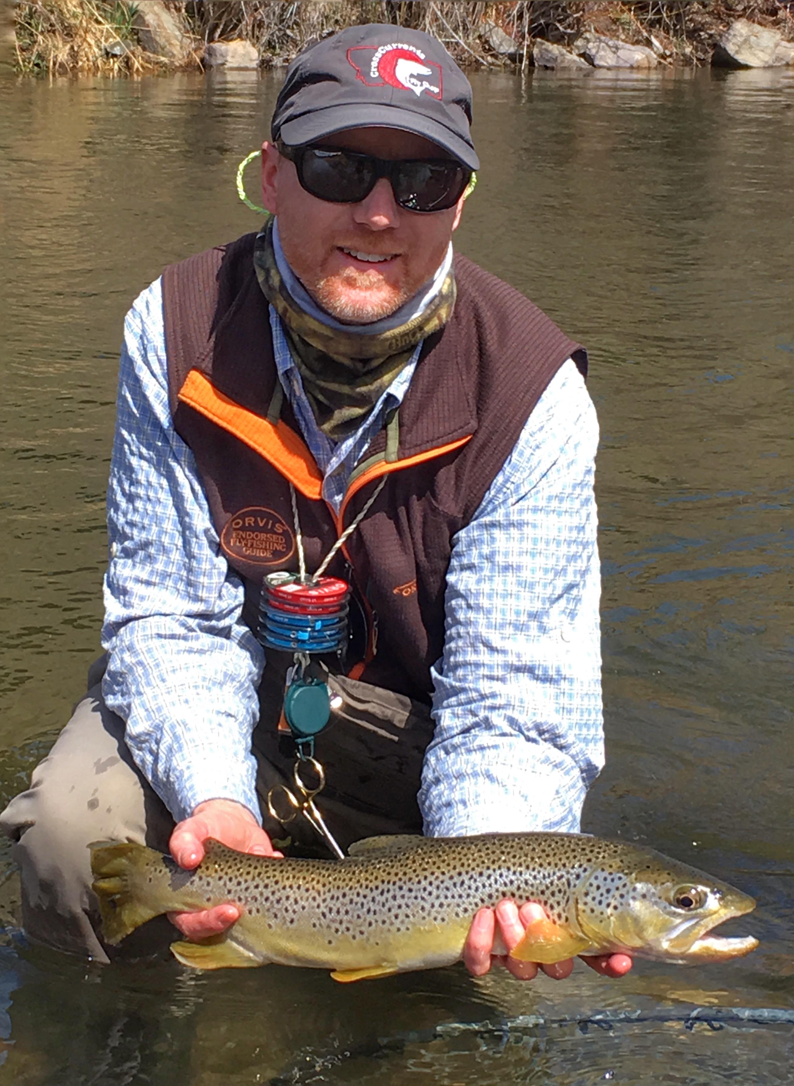 Missouri river fishing report 5 1 17 crosscurrents fly for Missouri fishing report