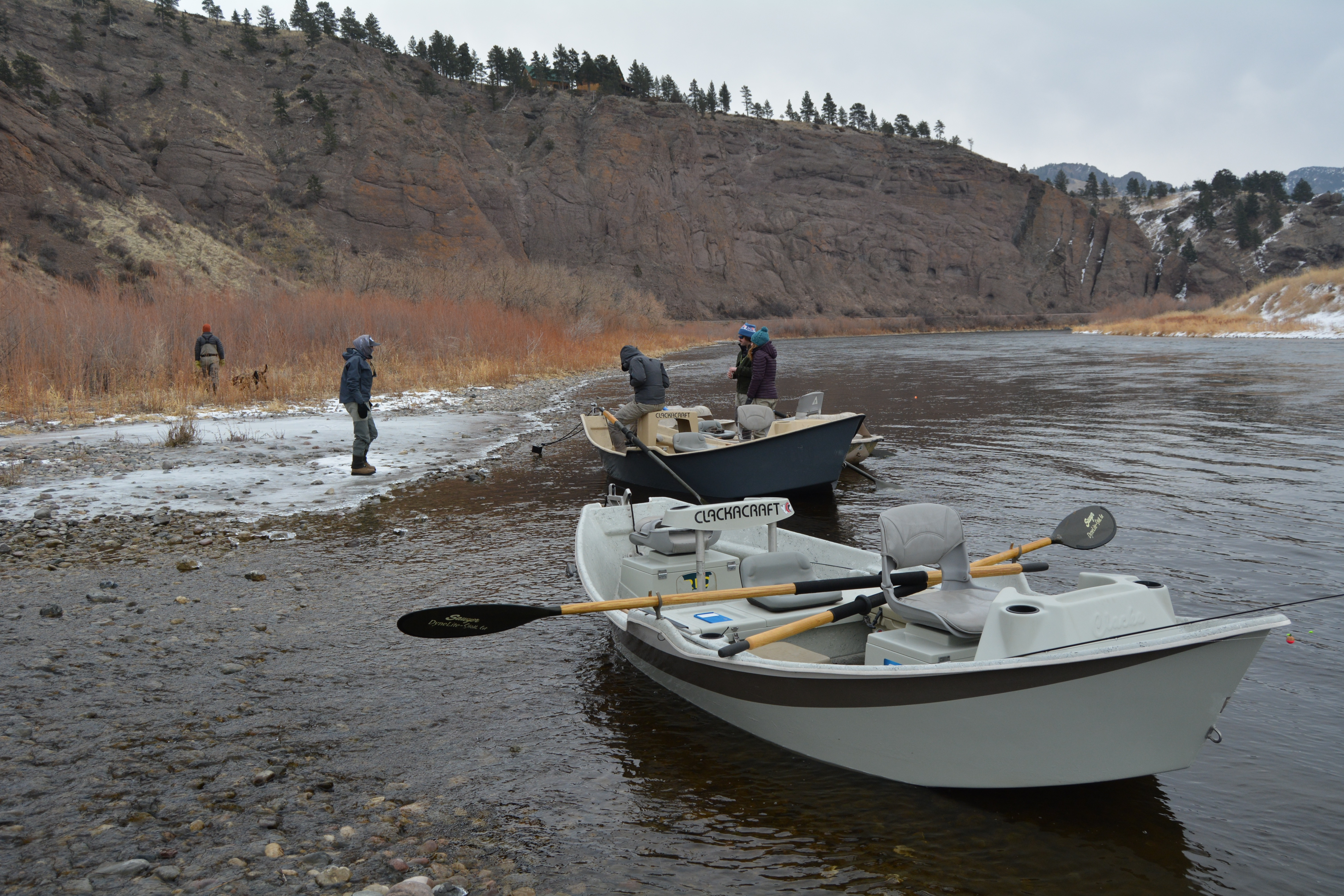 Cold Weather Fly Fishing, No Problem! Layer Layer Layer