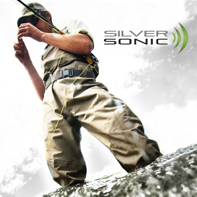 Orvis Silver Sonic Convertible Top Waders For Men On