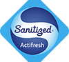 Sanitized Actifresh treatment