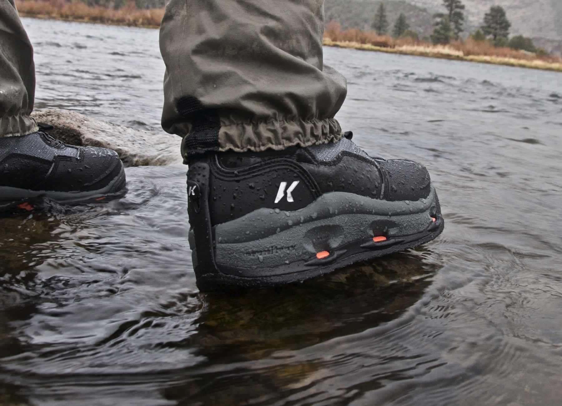 Korkers Darkhorse Wading Boot With Boa Adapatable Traction