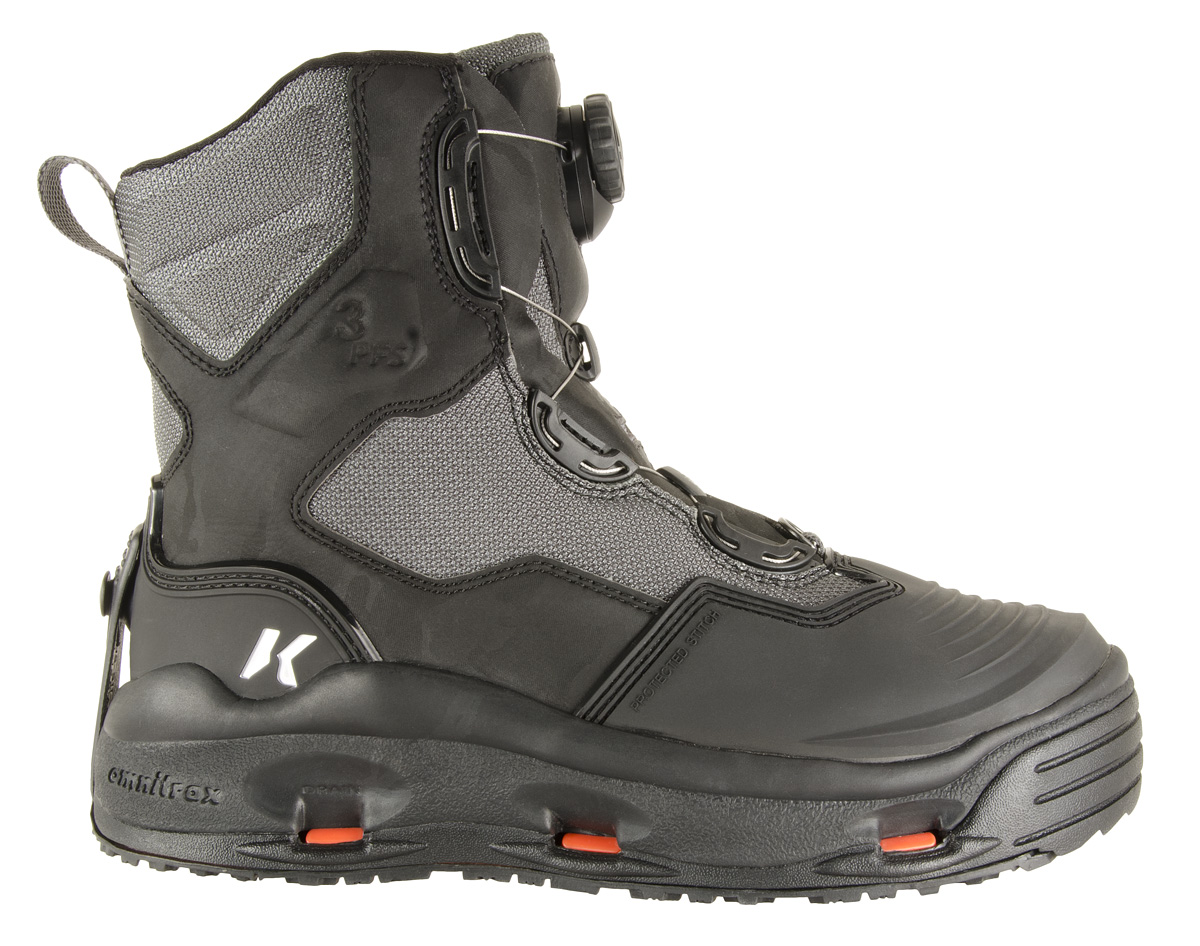 Korkers Greenback Fly Fishing Wading Boots with Convertible Outsoles All Sizes