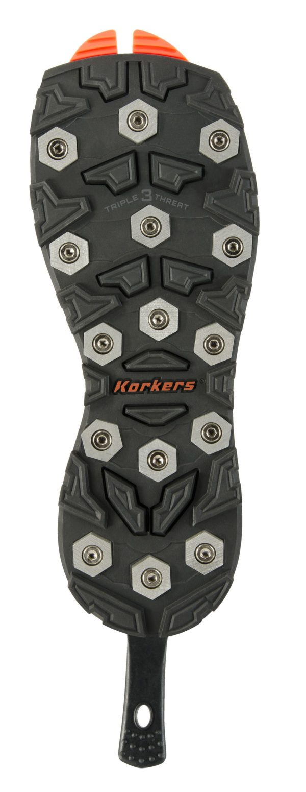 Korkers Triple Threat Aluminum Hex Sole