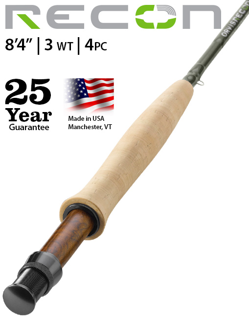 """Orvis Recon 8'4"""" 3-weight Fly Rod"""