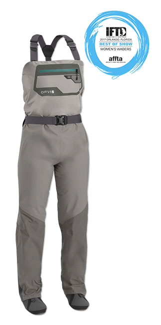 fc1963734e28c Orvis Women's Ultralight Convertible Wader super comfort and fit