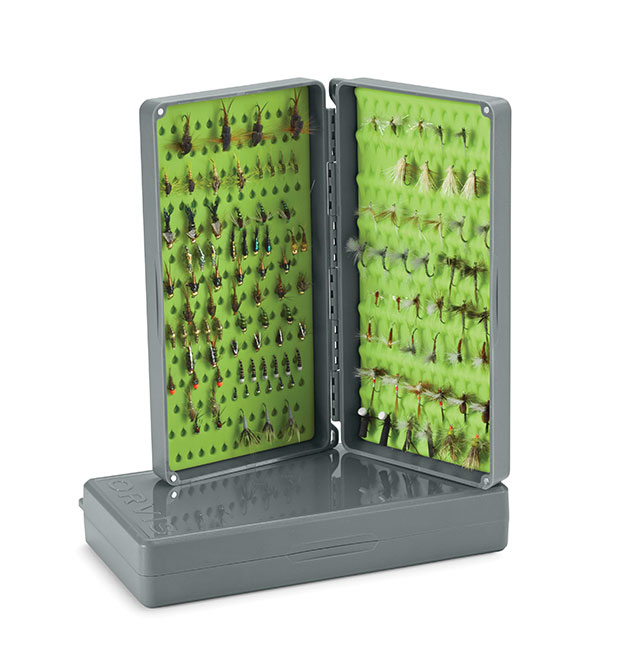 Orvis-Tacky Dry Side Box with Free Flies