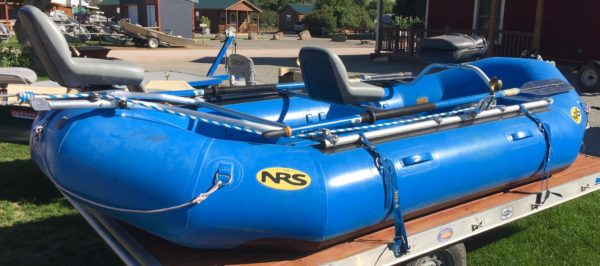 NRS Otter 140 Raft Package -Used