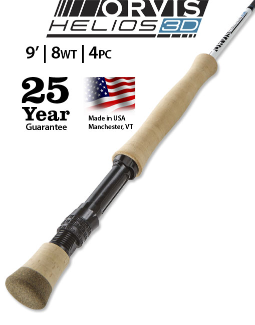Orvis Helios 3D 9' 8-weight Fly Rod