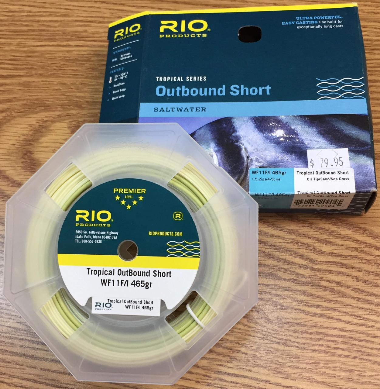 Rio Tropical Outbound Short Intermediate Sink Tip Fly Line