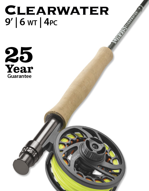 Orvis Clearwater 9 6 Weight Fly Rod Affordable Performance