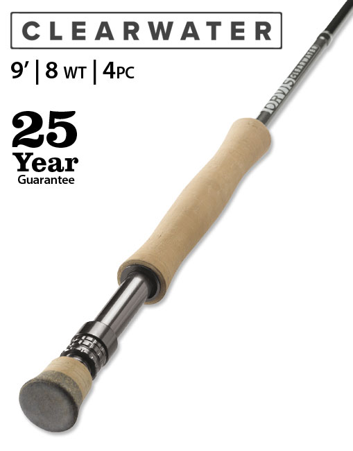 Orvis Clearwater 9' 8-weight Fly Rod