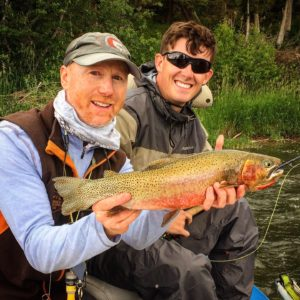 Cutthroat Trout on Blackfoot River