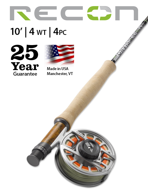 Orvis Recon 10' 4-weight Fly Rod NEW