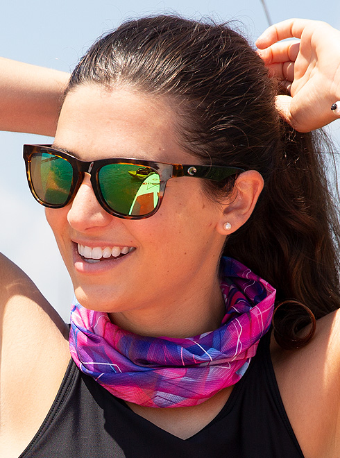 Ambiguo Oh querido Torpe  Anti-Odour Ultra-Stretch HeiQ-cooling Moonbow Coolnet UV+ Buff® UPF50
