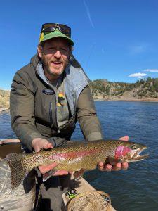 rainbow trout Missouri river
