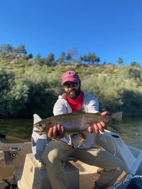 Missouri River fly fishing