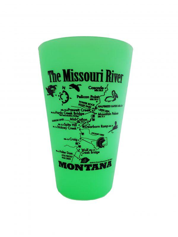 Silipint with Missouri River Map & CCFS Logo