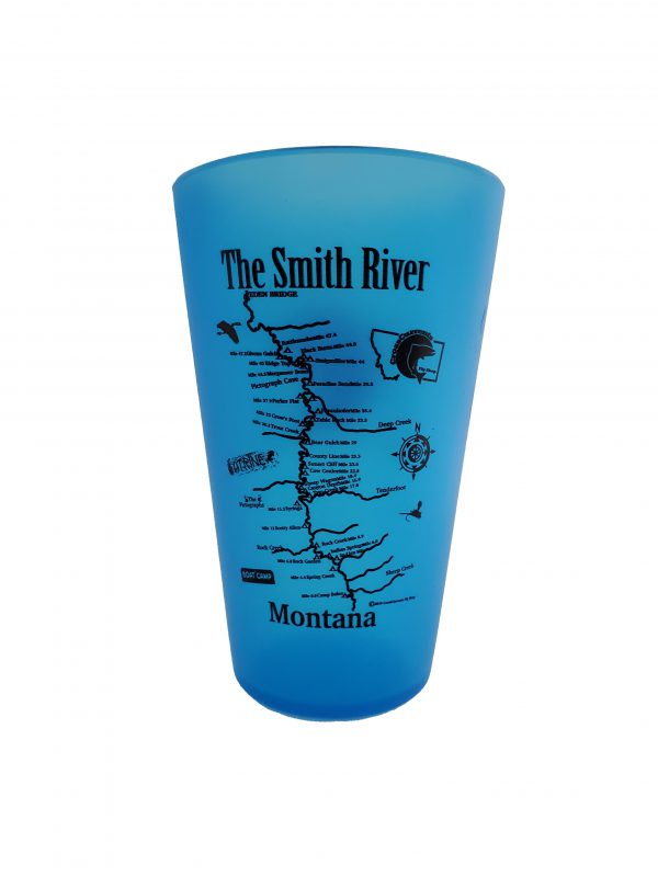 Silipint Smith River Map Cup with CCFS Logo