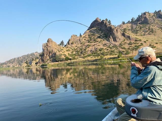 Missouri River Dry Fly Fishing